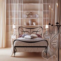 Кованая кровать КК 69