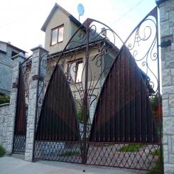 Кованые ворота КВ 85