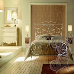 Кованая кровать итальянский дизайн КК 9