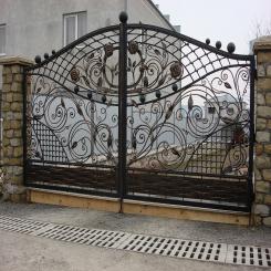 Кованые ворота КВ 23