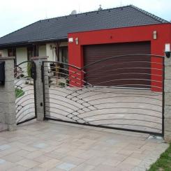 Кованые ворота КВ 86