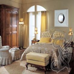 Кованая кровать КК 73
