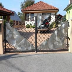 Кованые ворота КВ 87