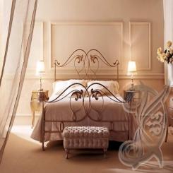 Кованая кровать КК 74