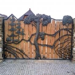 Кованые ворота КВ 90
