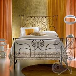 Кованая кровать КК 77