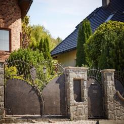 Кованые ворота КВ 92