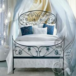 Кованая кровать КК 79