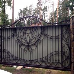 Кованые ворота КВ 93
