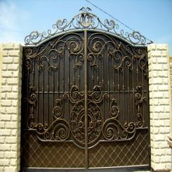 Кованые ворота КВ 94