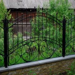 Кованый забор КЗ 96