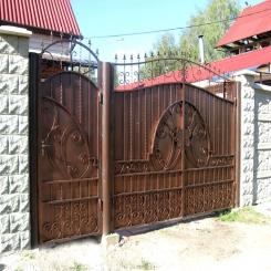 Кованые ворота КВ 95