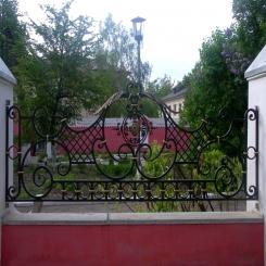 Кованый забор КЗ 97