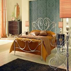 Кованая кровать двуспальная КК 10