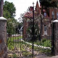 Кованые ворота КВ 24