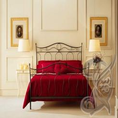 Кованая кровать КК 82