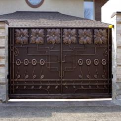 Кованые ворота КВ 96