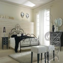 Кованая кровать КК 83