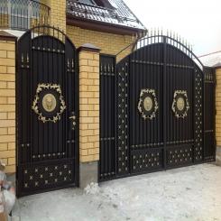 Кованые ворота КВ 97