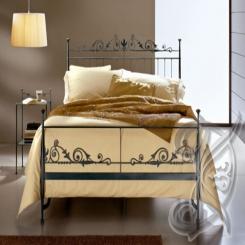 Кованая кровать КК 84