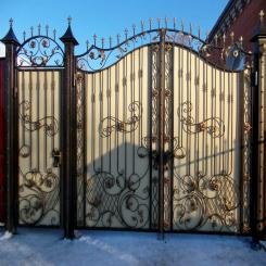 Кованые ворота КВ 98