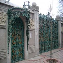 Кованые ворота КВ 100