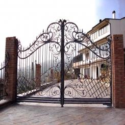 Кованые ворота КВ 103