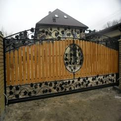 Кованые ворота КВ 104