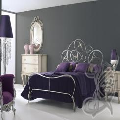 Кованая кровать КК 91