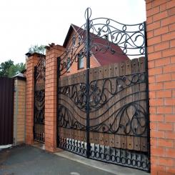 Кованые ворота КВ 25