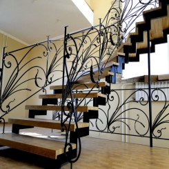 Кованые лестницы КЛ 49