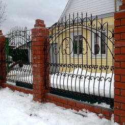Кованый забор КЗ 26