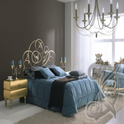 Кованая кровать КК 92