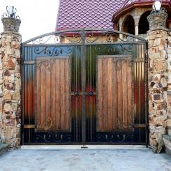Кованые ворота КВ 106