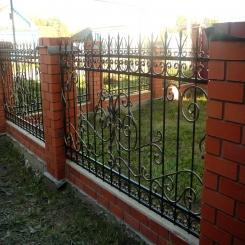 Кованый забор КЗ 27