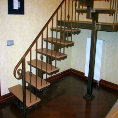 Кованая лестница ККЛ 10