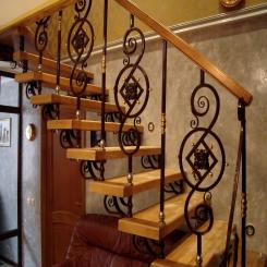 Кованая лестница ККЛ 12