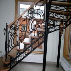 Кованая лестница ККЛ 13