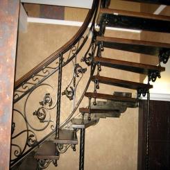 Кованая лестница ККЛ 17