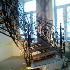 Кованая лестница ККЛ 20