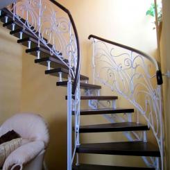 Кованая лестница ККЛ 7