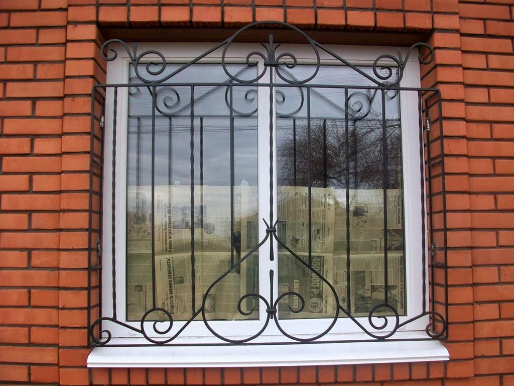 картинки решеток металлических на окна звездной
