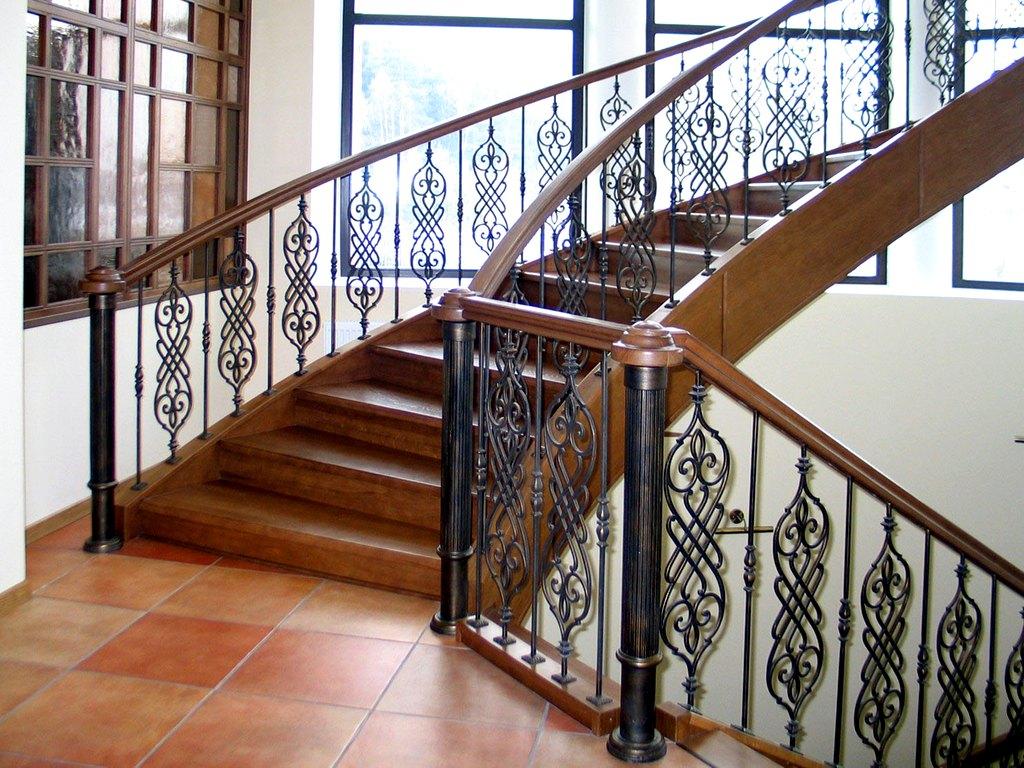 кованые ограждения лестниц картинки сильно инсталляция