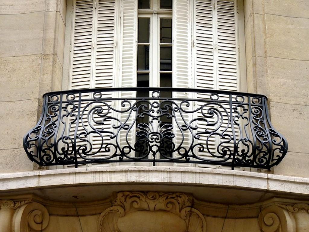 красивые кованые балконы фото этот