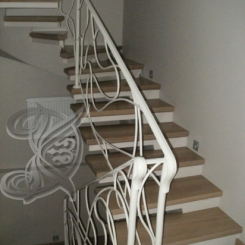 Кованая лестница ККЛ_1