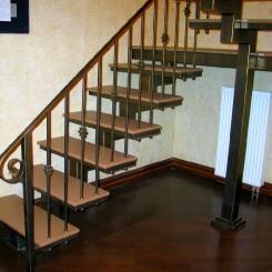 Кованая лестница ККЛ_10