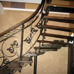 Кованая лестница ККЛ_17