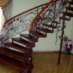 Кованая лестница ККЛ_18