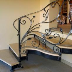 Кованая лестница ККЛ_16