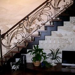 Кованая лестница ККЛ_9